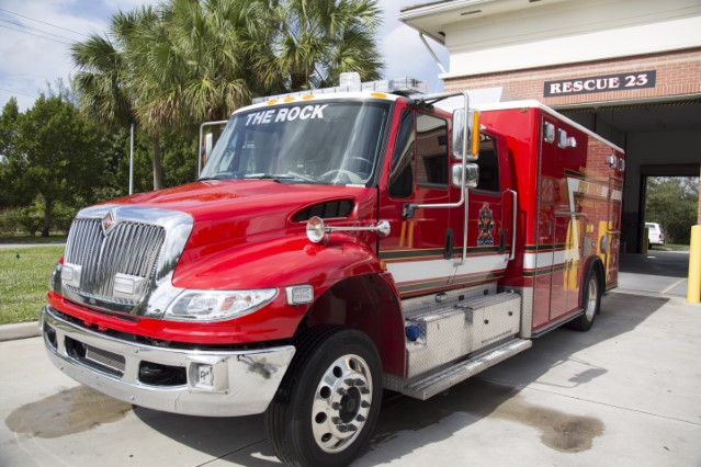 Type of Unit: Rescue Station: 23 Year Built: 2016 Manufacturer: Horton Chassis: International