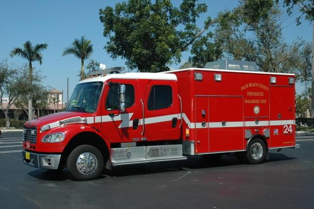 Type of Unit:  Rescue Station:  24 Year Built:  2005 Manufacturer:  American LaFrance Chassis:  Freightliner M2