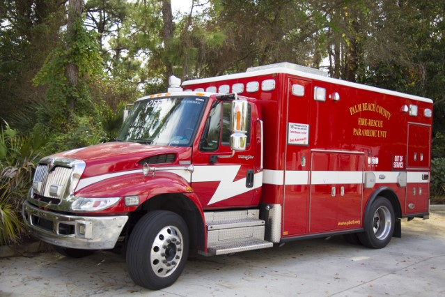 Type of Unit:  Rescue  Station:  56  Year Built:  2003  Manufacturer:  American LaFrance  Chassis:  Freightliner FL-60