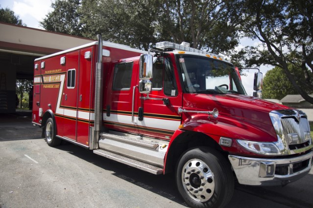 Type of Unit:  Rescue Station:  25 Year Built:  2012 Manufacturer:  Horton Chassis:  Freightliner FL-60