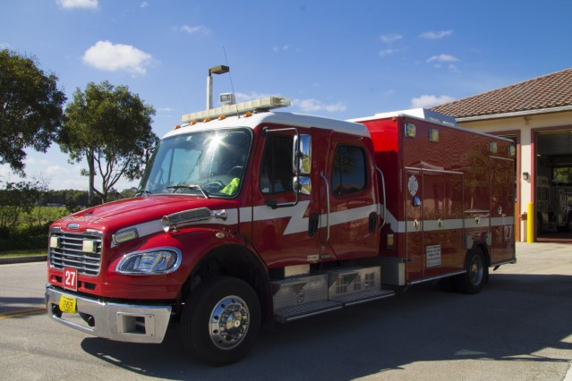 Type of Unit:  Rescue Station:  27 Year Built:  2005 Manufacturer:  American LaFrance Chassis:  Freightliner M2