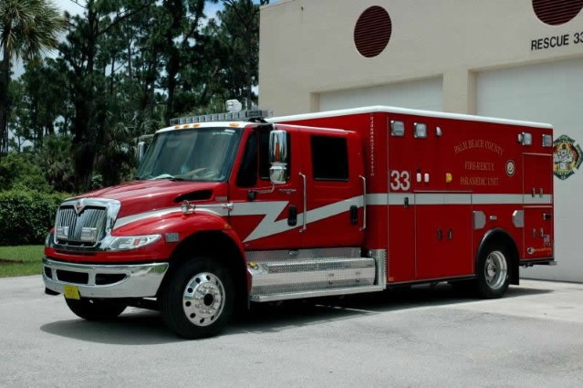 Type of Unit:  Rescue Station:  33 Year Built:  2014 Manufacturer:  Horton Chassis:  International