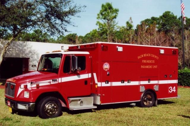 Type of Unit:  Rescue  Station:  34  Year Built:  2013  Manufacturer:  Horton  Chassis:  Freightliner FL-60