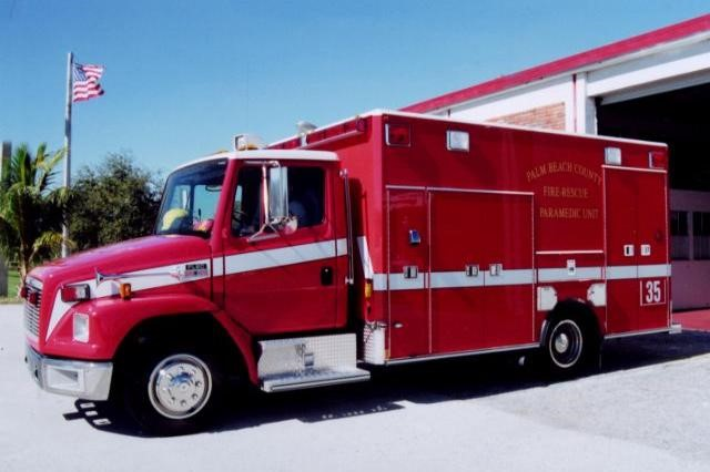 Type of Unit:  Rescue Station:  35 Year Built:  2012 Manufacturer:  Horton Chassis:  Freightliner FL-60
