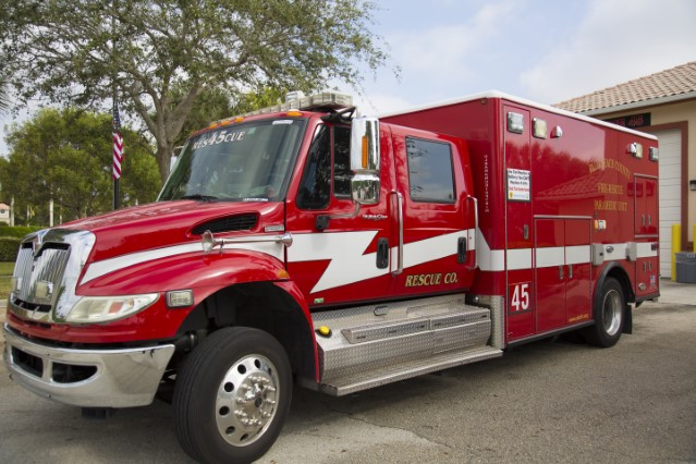 Type of Unit:  Rescue  Station:  45  Year Built:  2009  Manufacturer:  Horton  Chassis:  International