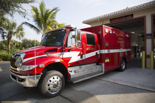 Type of Unit:  Rescue  Station:  46  Year Built:  2010  Manufacturer:  Horton  Chassis:  Freightliner FL-60