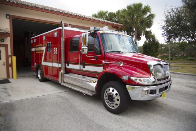 Type of Unit:  Rescue  Station:  53  Year Built:  2005  Manufacturer:  American LaFrance  Chassis:  Freightliner M2