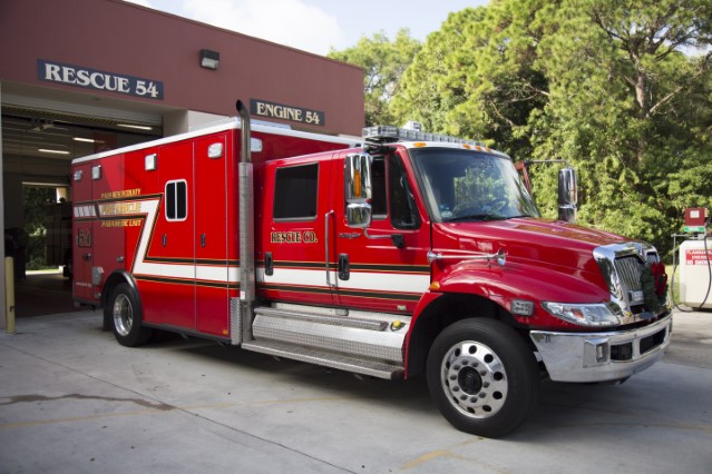 Type of Unit:  Rescue  Station:  54  Year Built:  2006  Manufacturer:  American LaFrance  Chassis:  Freightliner FL-60