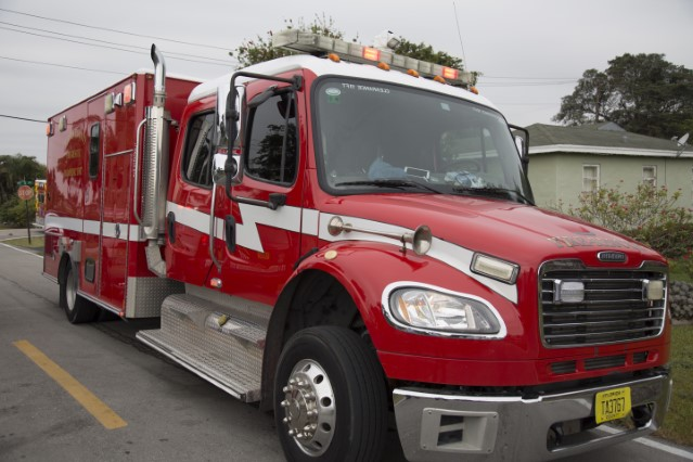Type of Unit:  Rescue  Station:  56  Year Built:  2013  Manufacturer:  Horton  Chassis:  Freightliner M2