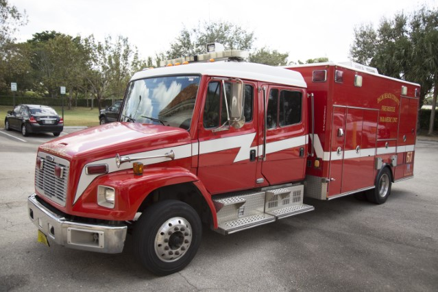 Type of Unit:  Rescue  Station:  57  Year Built:  2006  Manufacturer:  American LaFrance  Chassis:  M2
