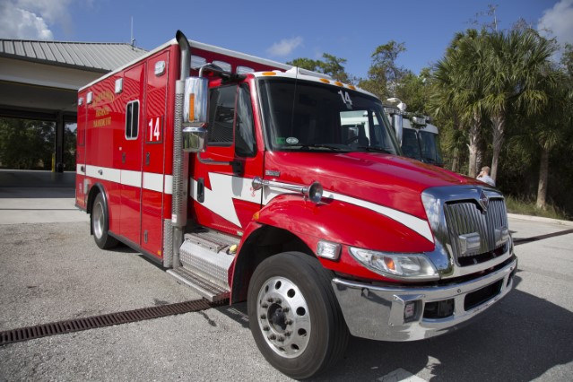 Type of Unit:  Rescue Station:  14 Year Built:  2012 Manufacturer:  Horton Chassis:  Freightliner FL-60 Water Capacity:  gallons  Pump Rate:  gallons per minute     Advanced Life Support (ALS)