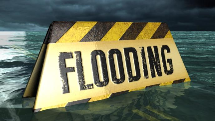 Flooding Sign