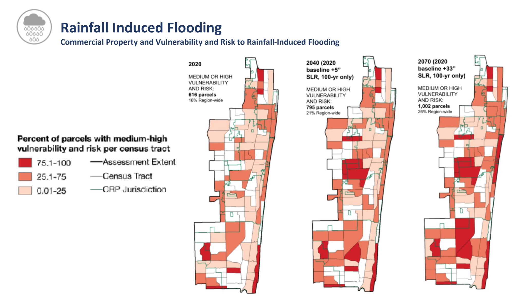 Rainfall Induced Flooding Map