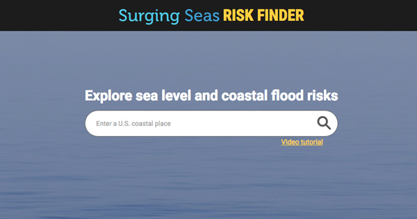 Thumbnail of Climate Centrals Surging Seas Risk Finder