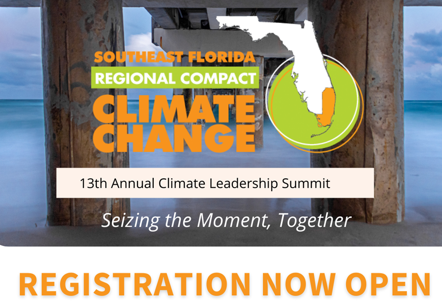 Registration Flyer for 2021 Climate Summit