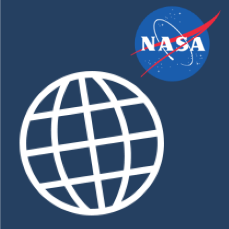 NASA Climate Icon for quick info on climate science