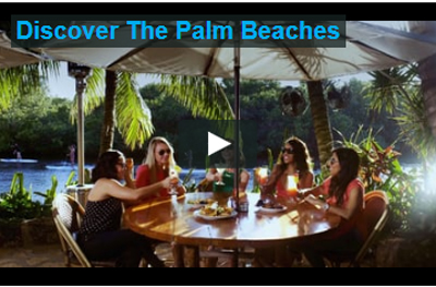 Screenshot of discover the palm beach video, click to play