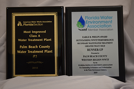 PBCWUD Receives Pair of Honors from Florida Water Environment Association