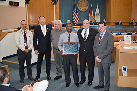 PBCWUD Named Best Large Water Distribution System in Florida