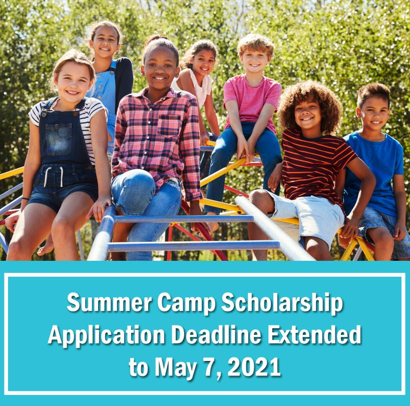 Summer Camp Scholarship Extenstion and logo