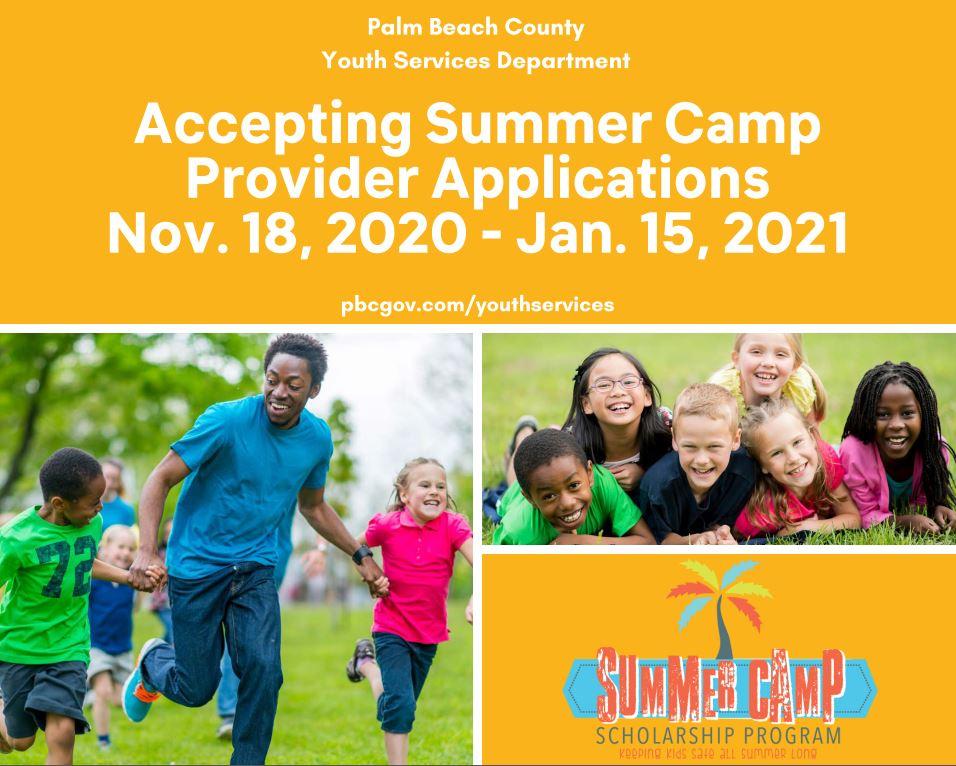 2021 Summer Camp Provider Application