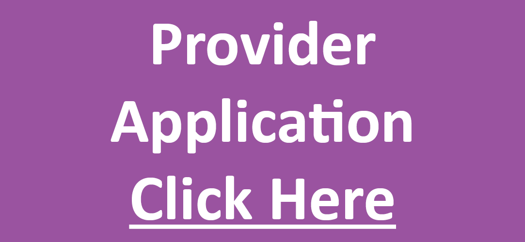Provider Application Click Here