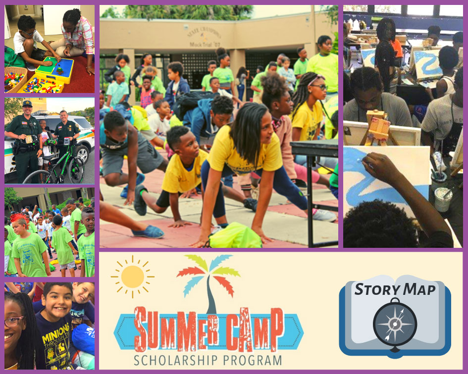 Summer Camp Images and Scholarship Program